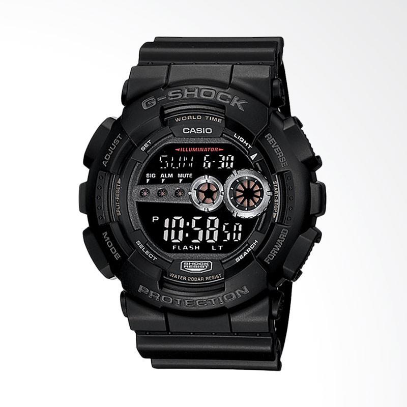 CASIO G-Shock Jam Tangan Pria - Black GD-100-1BDR