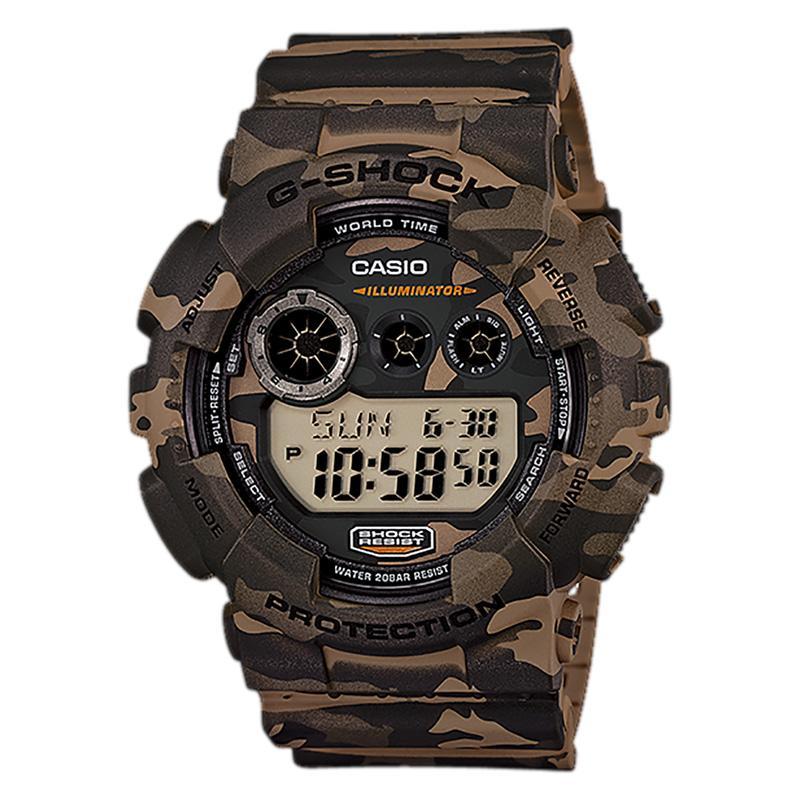 CASIO G-Shock Camouflage Jam Tangan Pria - Camouflage GD-120CM-5DR