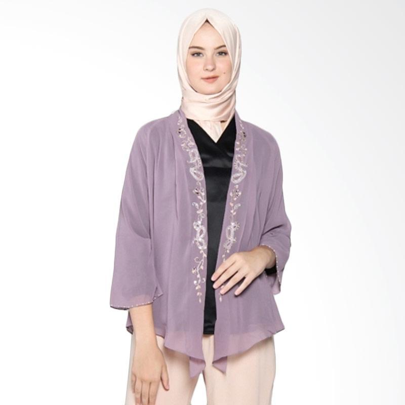 Yanna Azwar Gendis Outer Muslim Wanita - Purple