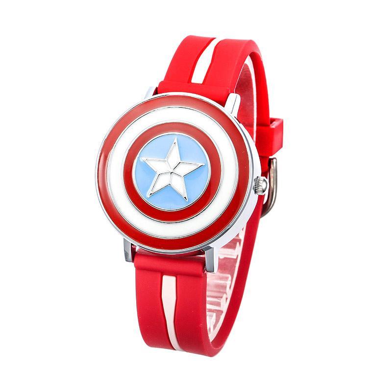 Marvel Avengers Captain America Jam Tangan Anak - Merah MV81040-R
