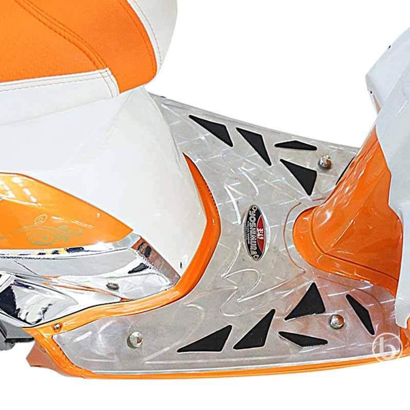 Yoshimura Bordes Pijakan Kaki Depan Motor for Vario Techno 150 - Silver