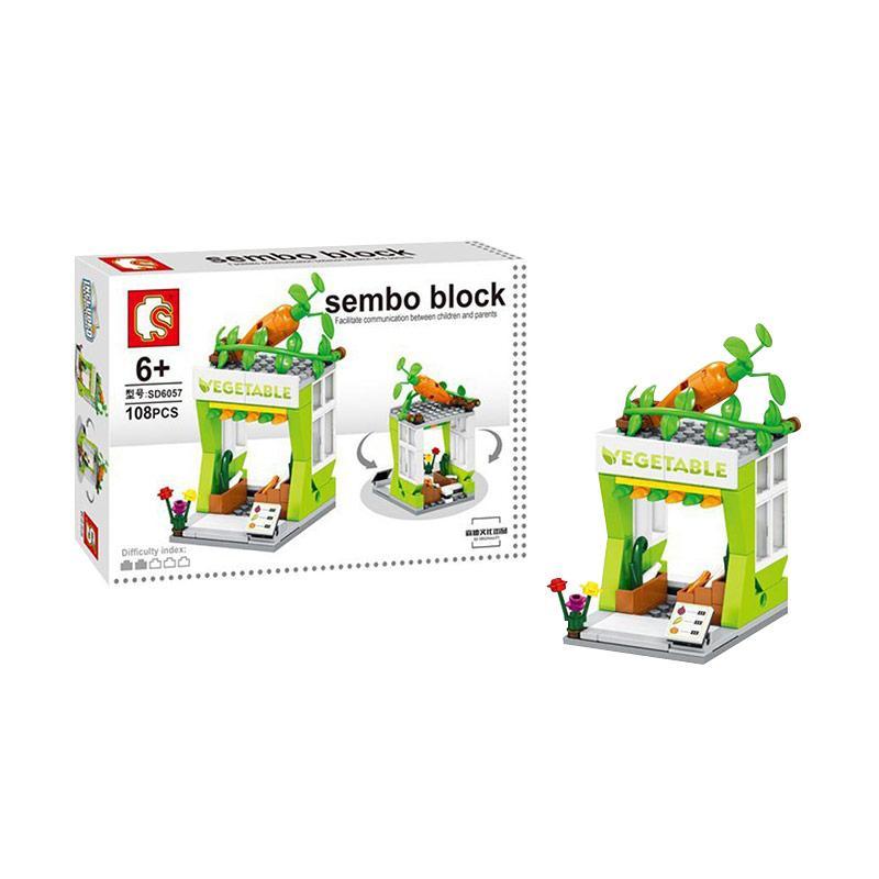 Sembo Sd6057 Vegetable Mainan Mini Blocks
