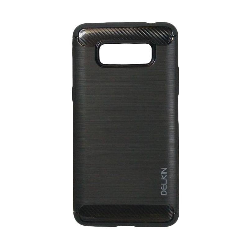 Delkin Slim Carbon Armor Casing for Samsung Galaxy J5 J500 - Hitam