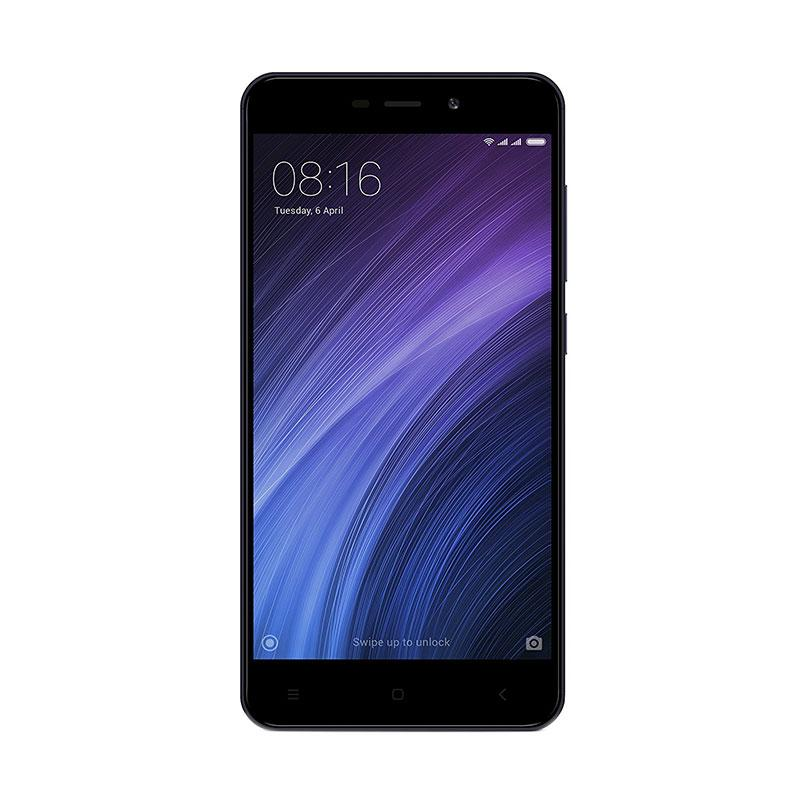 Xiaomi Redmi 4A Smartphone - Black [32GB/2GB/Garansi Resmi TAM]