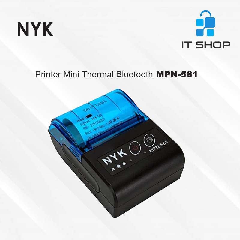 Jual Nyk Mini Printer Thermal Bluetooth Mpn 581 Murah Mei 2021 Blibli