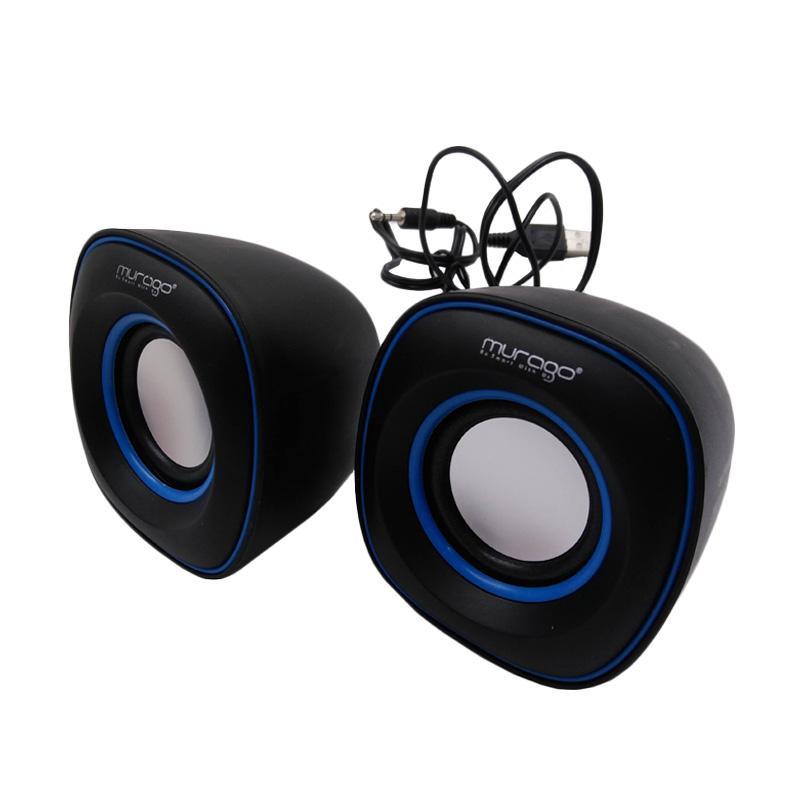 Murago G-105 USB Mini Speaker - Biru