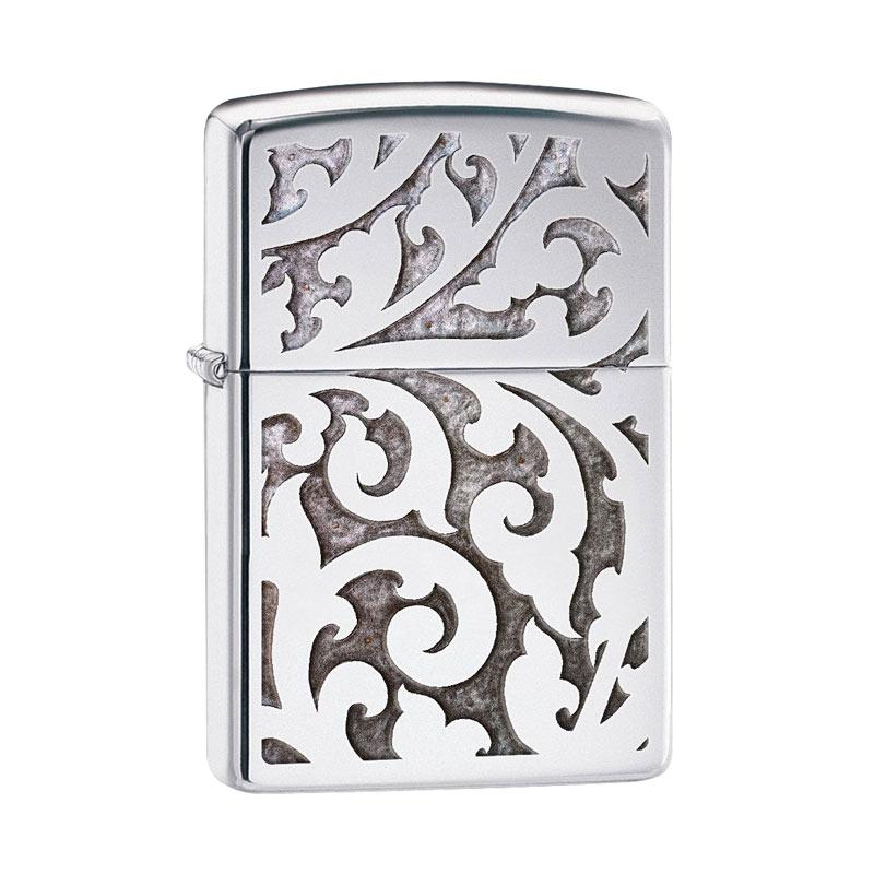 Zippo Filigree Design High Polish Chrome Pocket Lighter