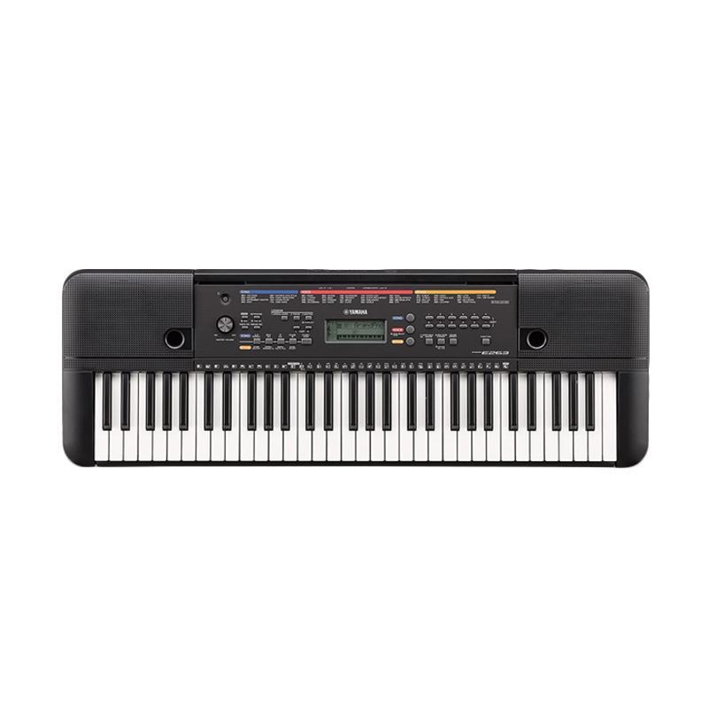 harga Yamaha PSRE263 Portable Keyboard Blibli.com