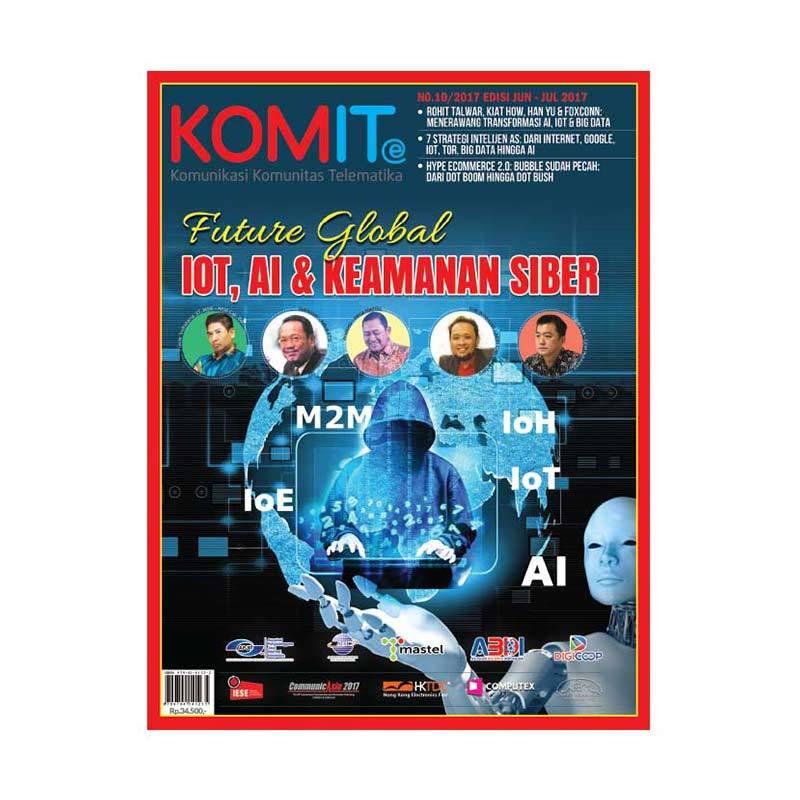harga KOMITe Edisi Juni - Juli 2017 Majalah Bisnis Blibli.com