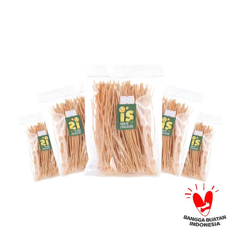 IS Snack Crackers Mie Lidi Asin [Buy 4 get 1 Free]