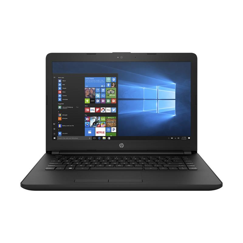 harga HP 14-BS011TU Notebook - Black [i3-6006/4GB/500GB/DOS] Blibli.com
