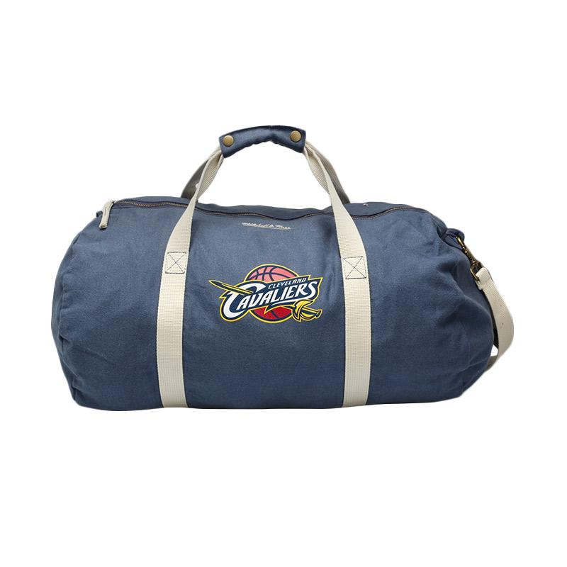 Mitchell n Ness NBA Team Logo Cleveland Cavaliers Duffle Bag Navy