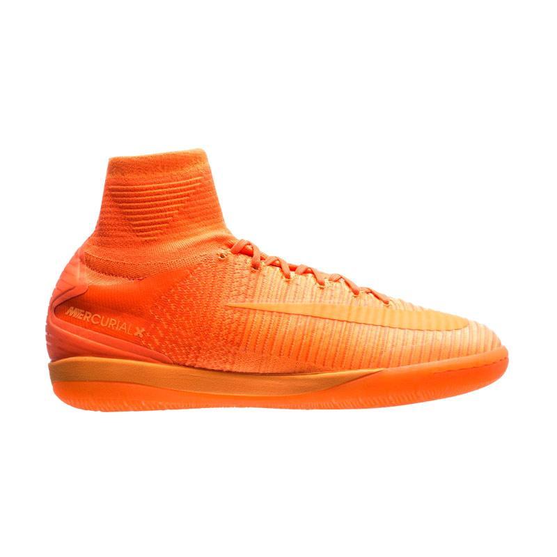 1010ec020a70 Nike MercurialX Proximo II IC Total Orange   Hyper Crimson Sepatu Futsal  Pria