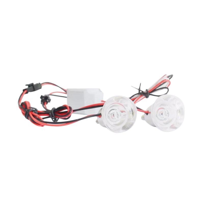 harga Raja Motor Aksesoris Motor Lampu Strobo Model Sharky LED- Biru- Merah [LAV9106-Biru-Merah] Blibli.com