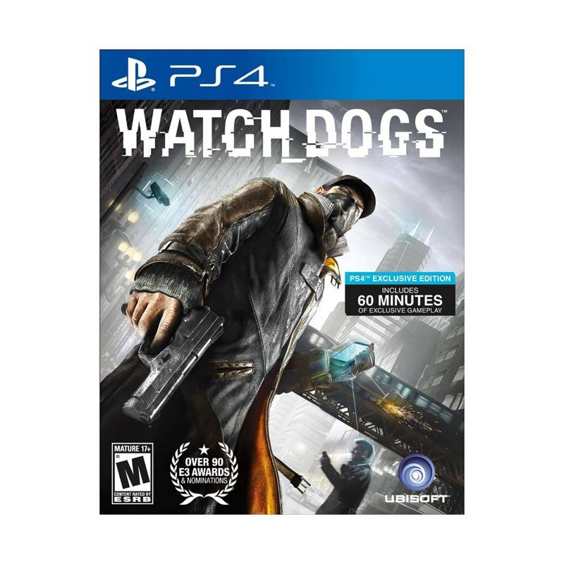 Daily Deals - Sony PS4 Watch Dogs DVD Game bawah