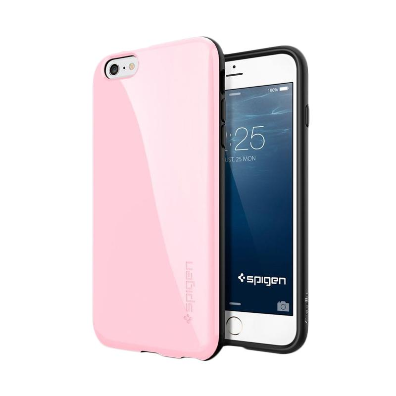 Spigen Capella Casing for iPhone 6 Plus 5.5 Inch - Pink [Retail Packaging]