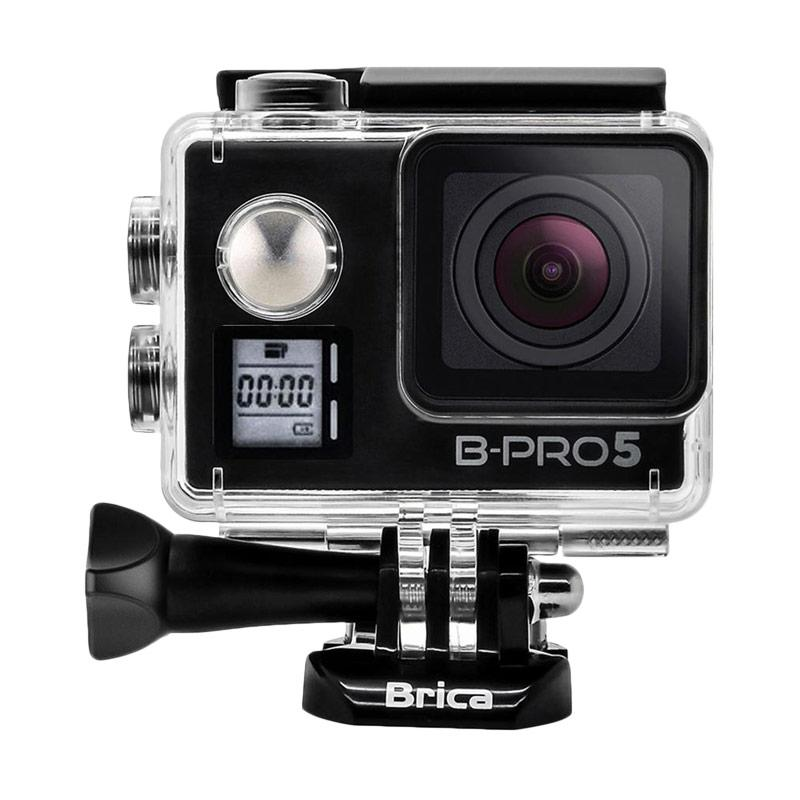 BRICA B-PRO 5 Alpha Edition Mark IIs AE2s Combo Deluxe Action Cam - Hitam