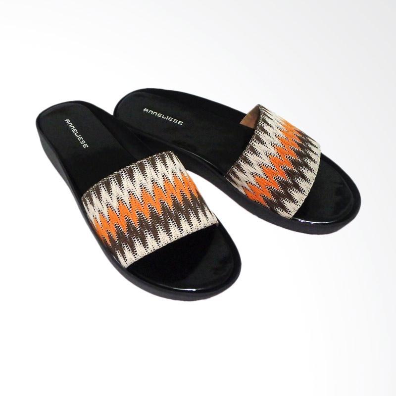 Anneliese Brukat 1 Sandal Wedges Wanita