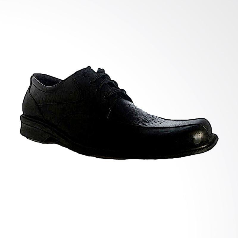 Handymen LCP 05 Formal Office Reguler Shoes Sepatu Pria - Black