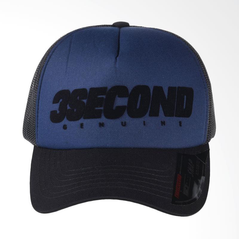 3SECOND Hat 3108 Topi Pria - Blue 131081718