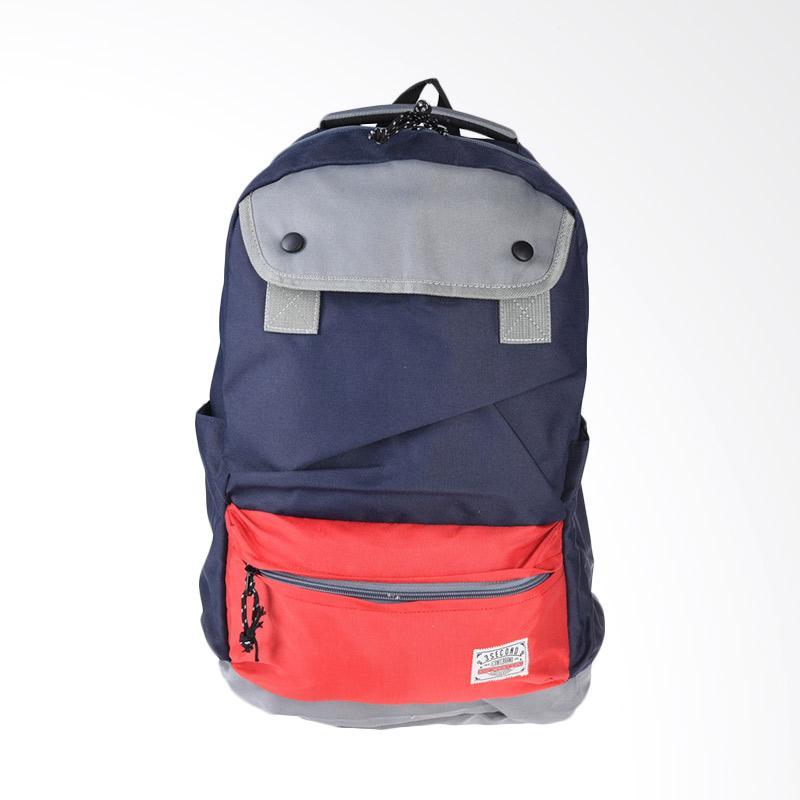 3SECOND Bag 1708 Backpack - Red 117081718