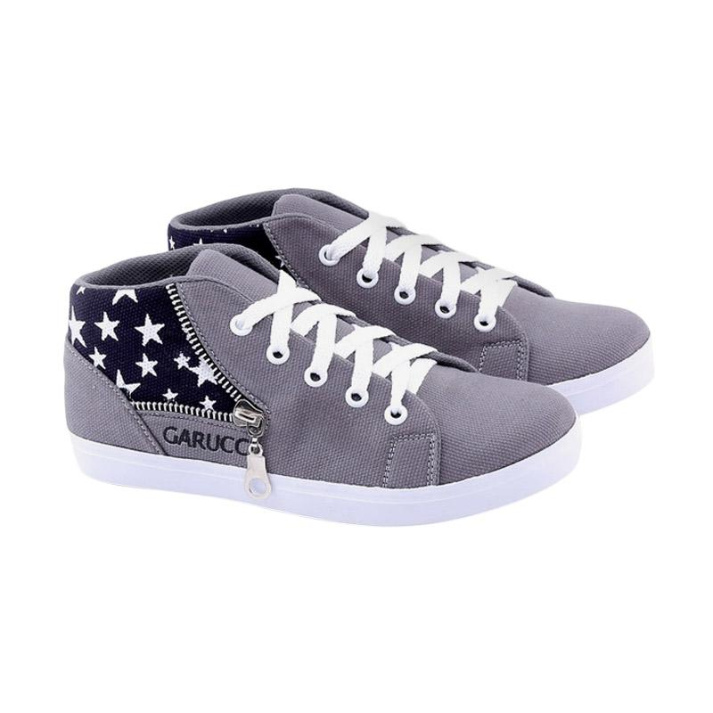 Garucci GNW 9079 Sepatu Kasual Anak Laki-Laki - Grey