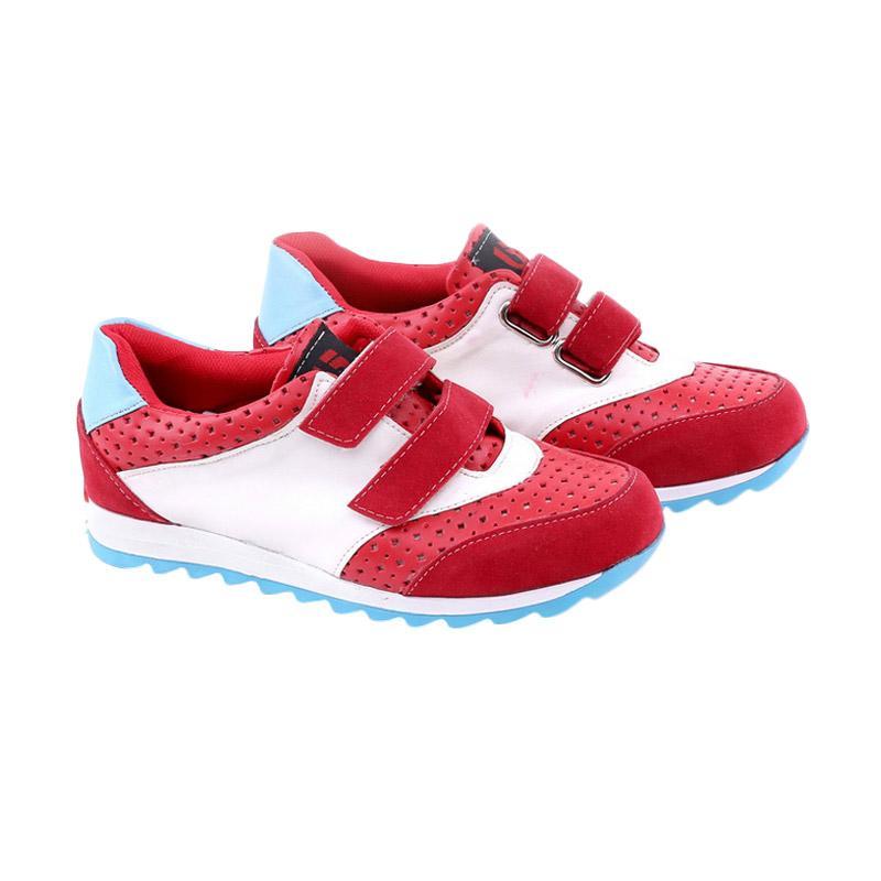 Garucci GAK 9082 Sepatu Kasual Anak Laki-Laki - Red