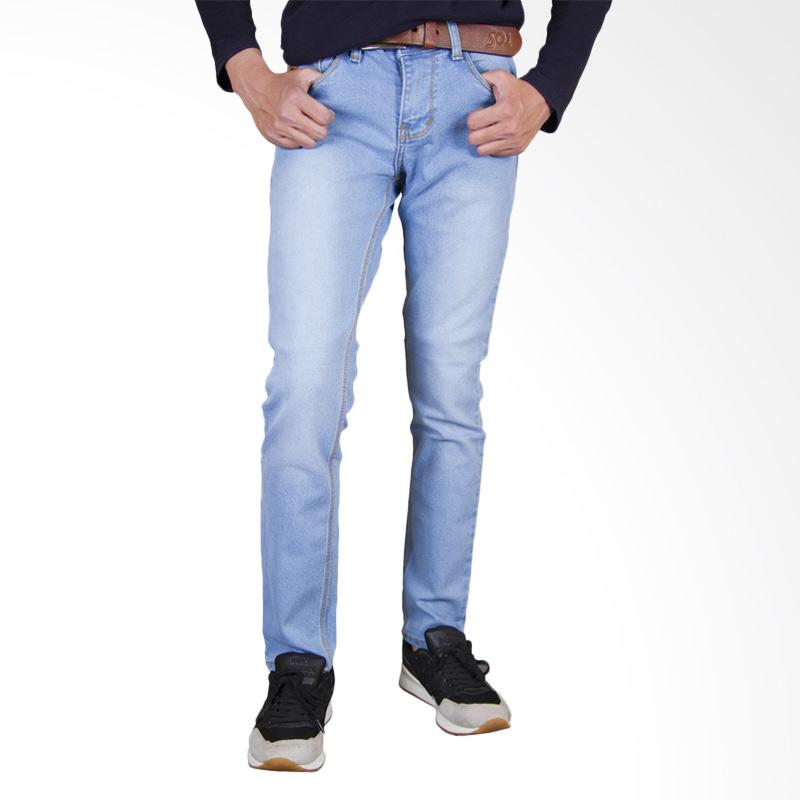 Primestore Celana Jeans Skinny Panjang Pria - Bioblitz