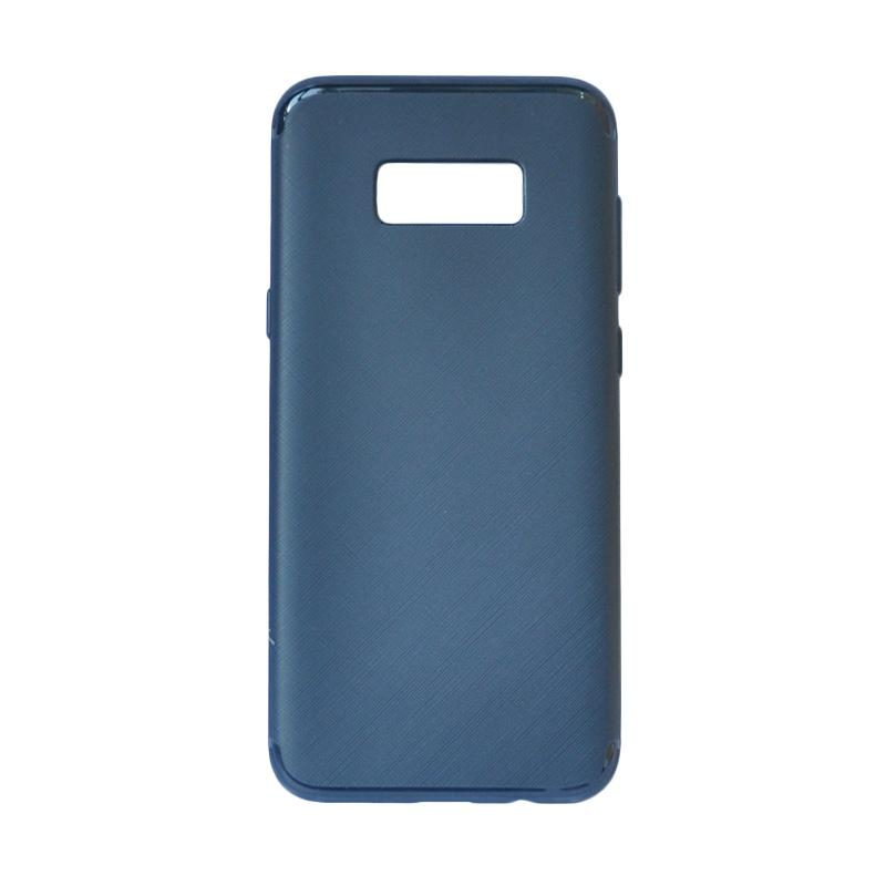 SMILE Ultra Thin Softcase Casing for Samsung Galaxy S8 - Navy Blue