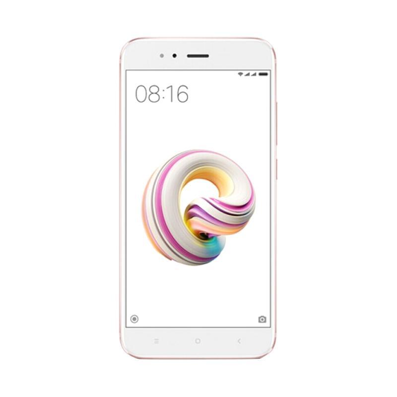 Update Harga Xiaomi Mi 5X Mi A1 Smartphone – Rose Gold [32GB/4GB]