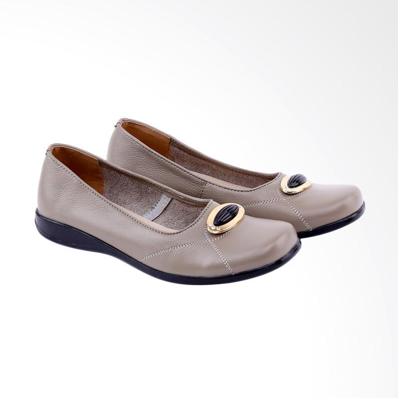 Garucci  GRN 4247 Wedges Shoes Formal Sepatu Wanita - Olive