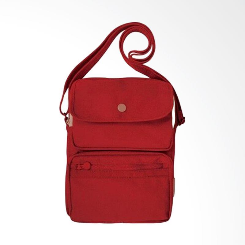 D'Cheryl GSB-IM Grand Shoulder Bag - Merah