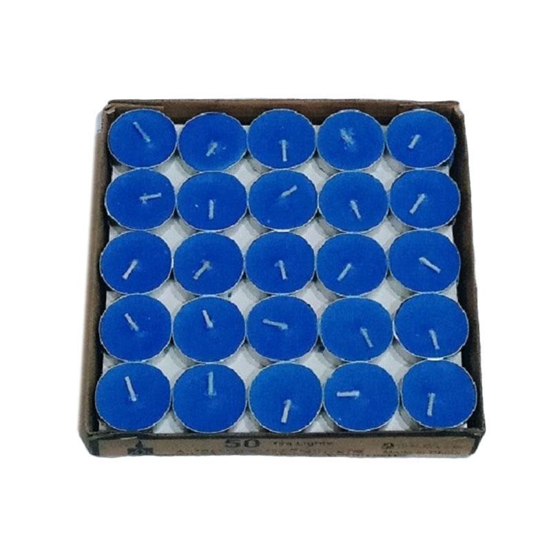 harga Fairuz Shop Tea Light Candle Lilin Aromaterapi - Blue [10 pcs] Blibli.com