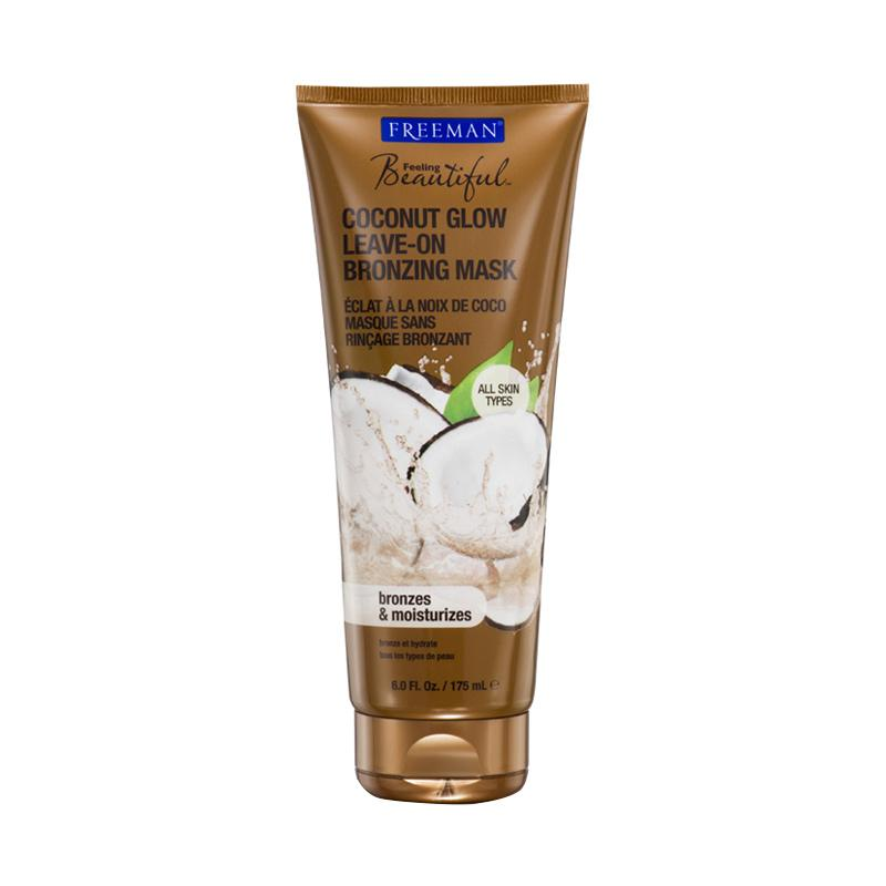 Freeman Facial Coconut Glow Bronzing Mask Tube [6oz]
