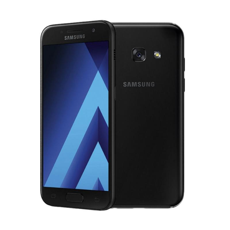Daily Deals - Samsung Galaxy A3 2017 - Black - Garansi Resmi 1 Tahun