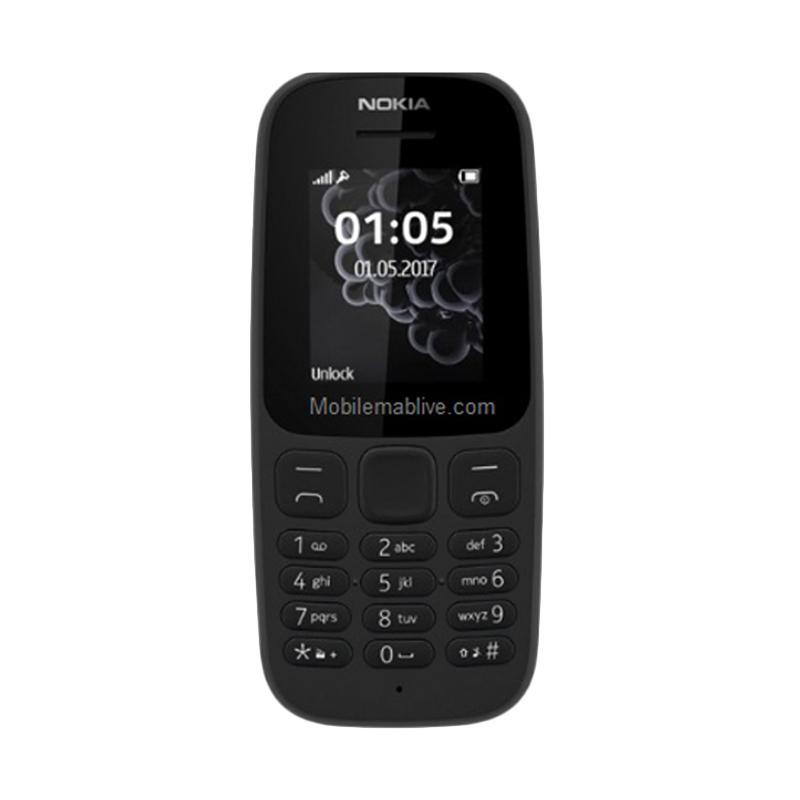 Nokia 105 2017 Handphone - Neo Black
