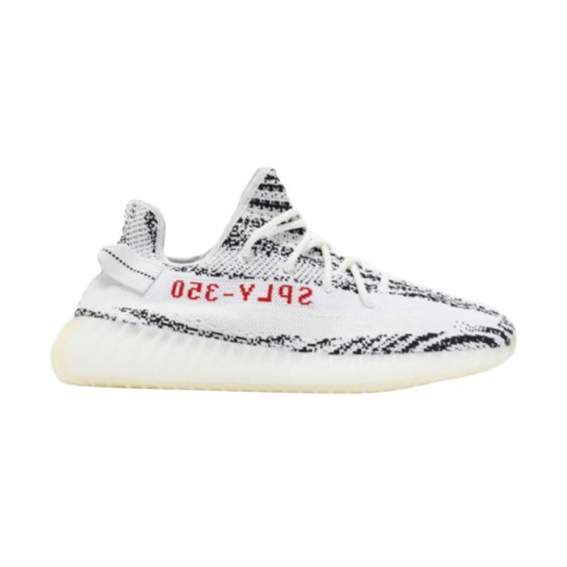 Jual adidas Yeezy Boost 350 V2 Zebra Sepatu Lari Pria