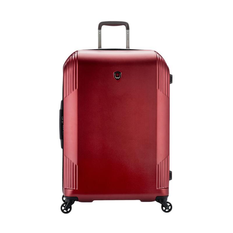 Traveler's Choice Riverside Hardcase Medium Trolley Bag - Burgundy [26 Inch]