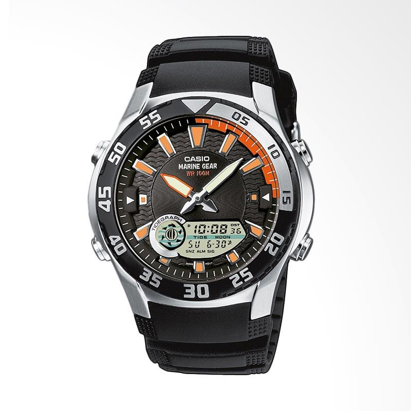 CASIO General Men's Watches Out Gear Jam Tangan Pria AMW-710-1AVDF - WW