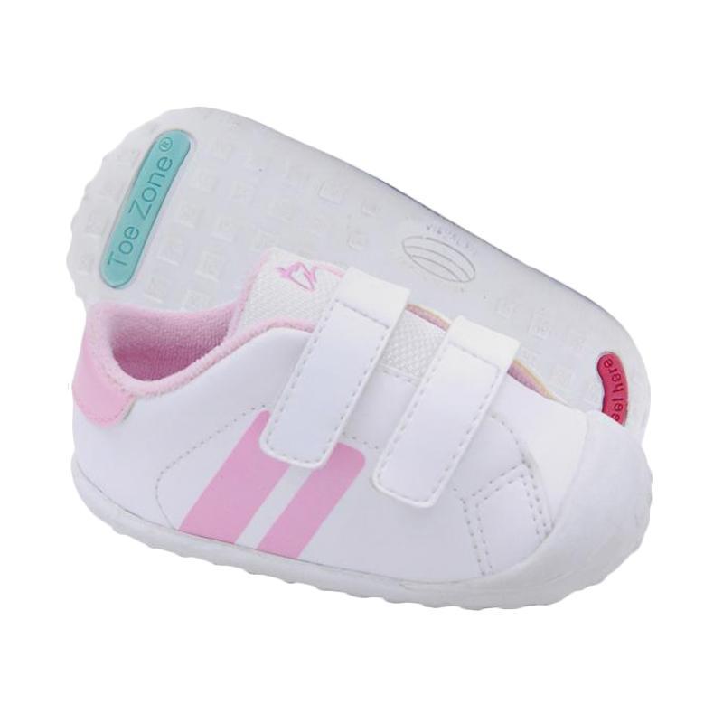 Toezone Kids Flagstaff Fs Sepatu Anak Perempuan - White Pink