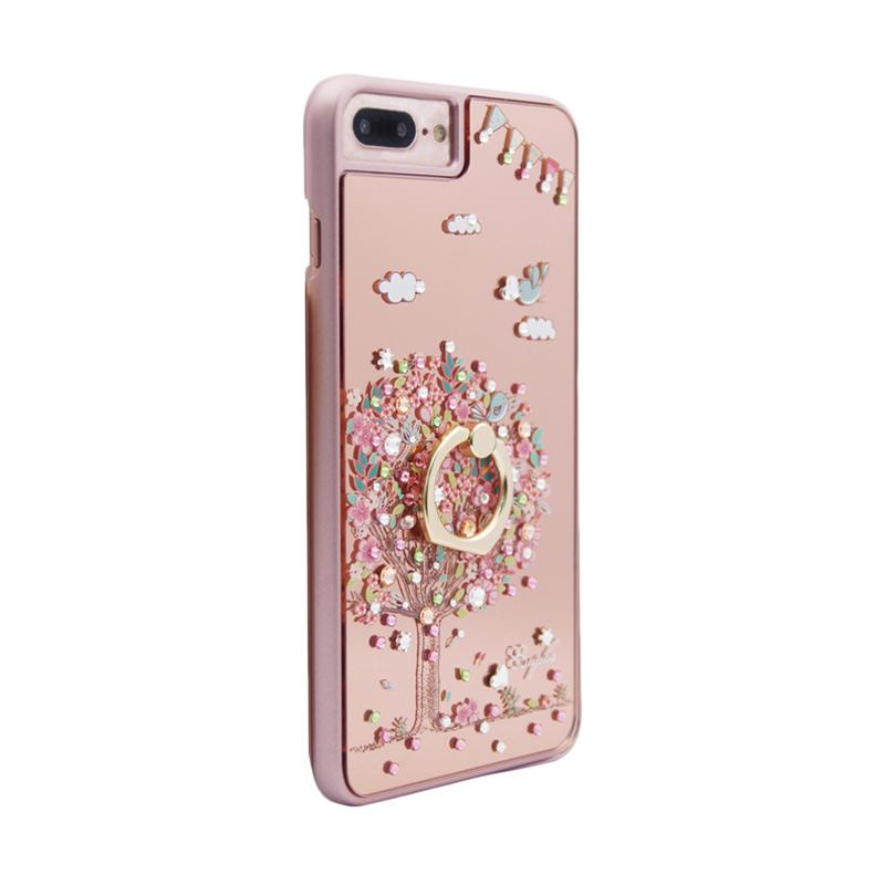 apbs® x Swarovski Love Tree Ring Casing for iPhone 6 or 7 Plus - Pink