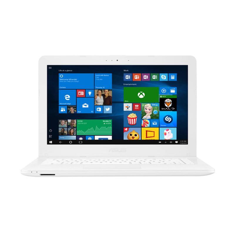 harga Asus X441UA WX324T Laptop [Core I3-6006/Windows 10 Original/4GB/1TB/DVD/14 Inch] White Blibli.com