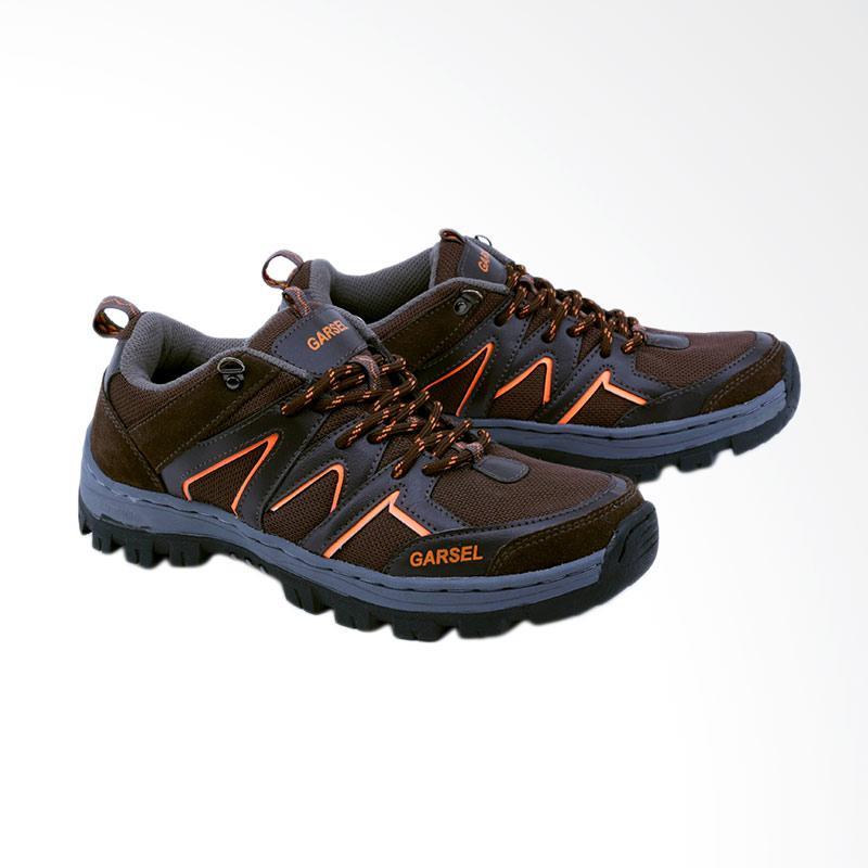 Garsel GAJ 2004 Sepatu Boots Pria - Coklat