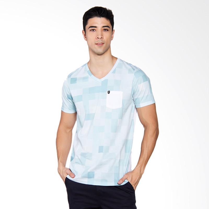 Famo 2604 T-shirt Pria - White [526041712]