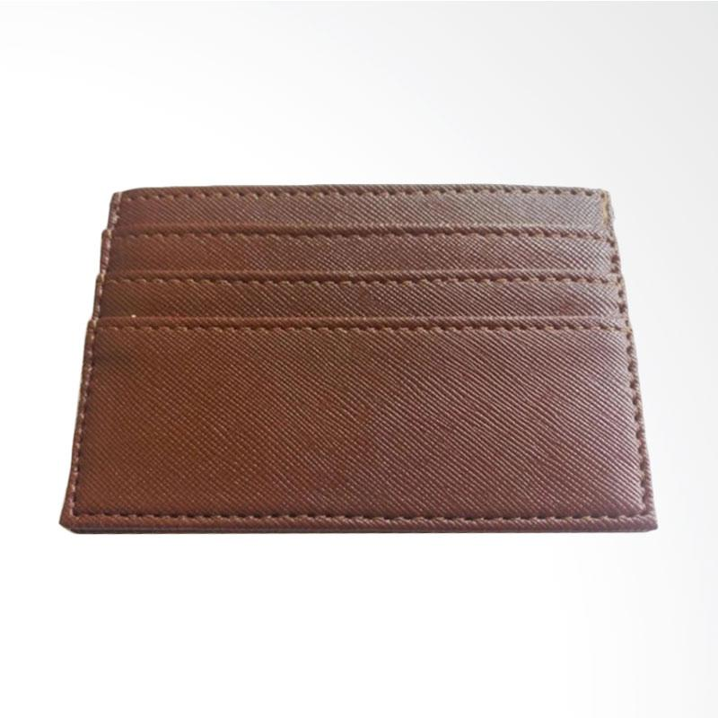 Garuda Shop Card Holder Mini Dompet Kartu Nama ATM KTP - Coklat