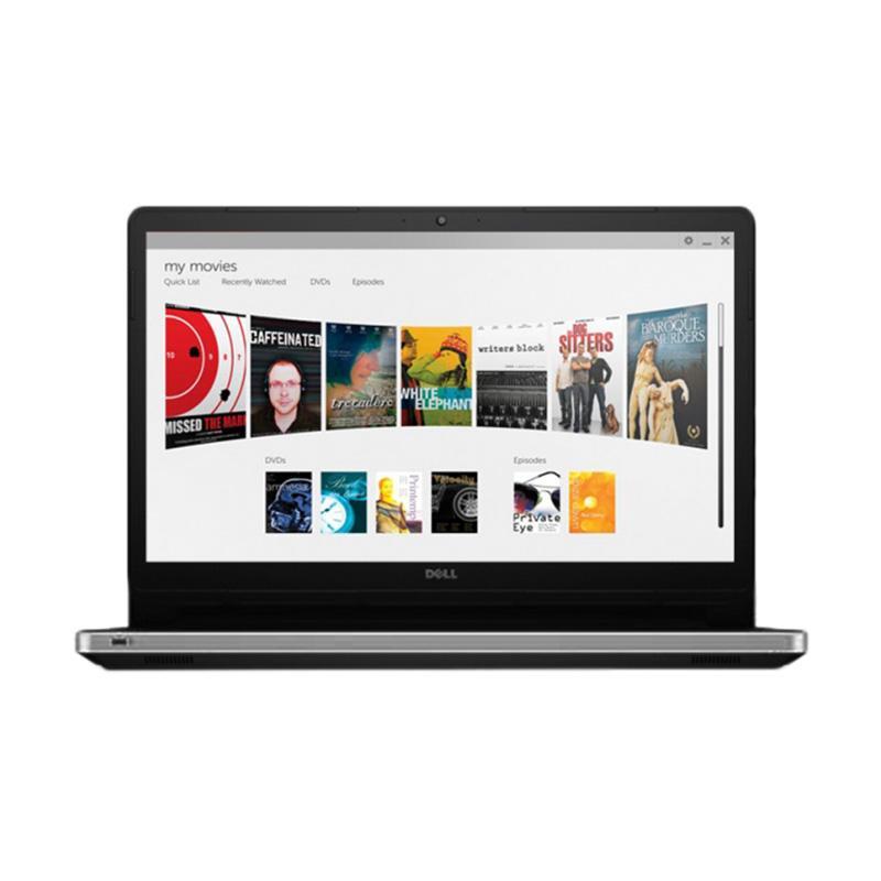 harga Dell Inspiron 14-5468 Notebook - Silver [Core i5-7200/4GB/1TB/AMD R7 M440 2GB/14