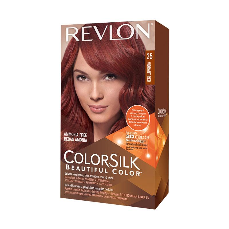 Revlon Colorsilk Hair Color Pewarna Rambut - Vibrant Red 35