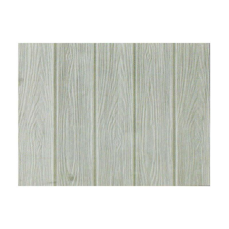 Hyundae Fixpix APB 29 Roll Fix Wood 3D Wallcover Foam Embossed Dekorasi Dinding - Grey