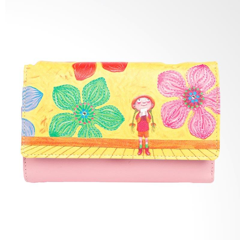 IPC Mansion Selected Jimmy Flower Girl Medium Purse Dompet