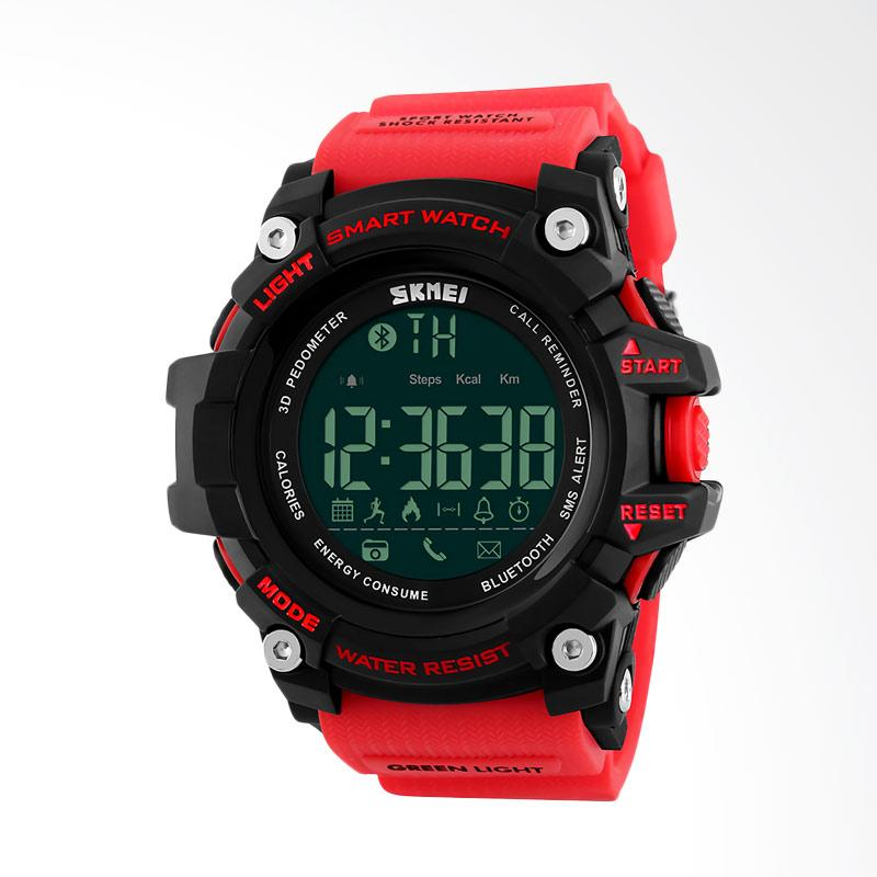 Skmei Smartwatch Jam Tangan Pria - Merah [1227-D]